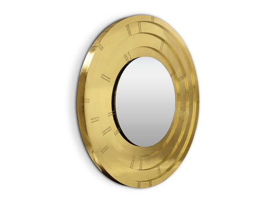 This Contemporary Gold Mirror Does Wonders for a Bathroom Interior 5 Gold Mirror This Contemporary Gold Mirror Does Wonders for a Bathroom Interior This Contemporary Gold Mirror Does Wonders for a Bathroom Interior 5