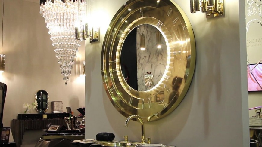 This Contemporary Gold Mirror Does Wonders for a Bathroom Interior 8 Gold Mirror This Contemporary Gold Mirror Does Wonders for a Bathroom Interior This Contemporary Gold Mirror Does Wonders for a Bathroom Interior 8