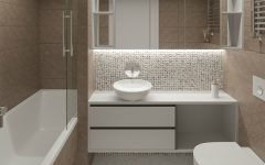 Scandinavian Style Bathroom This Outsanding Kiev Apartment Features a Scandinavian Style Bathroom featured 20 240x150