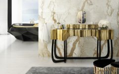 Master Bathroom Decor Introduce Glamorous Dressing Tables to Your Master Bathroom Decor featured 5 240x150