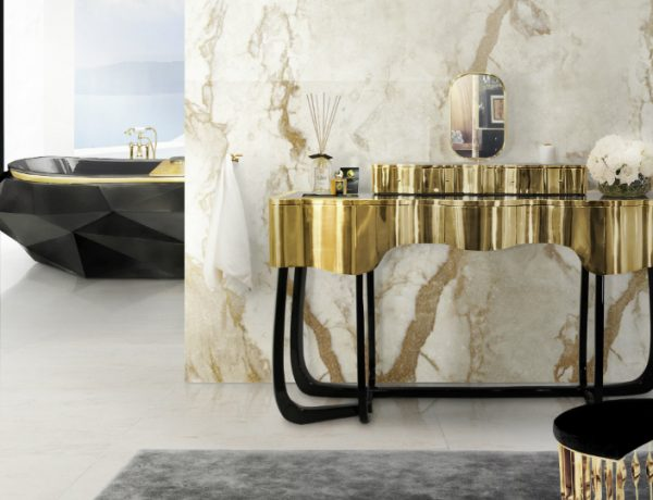 Master Bathroom Decor Introduce Glamorous Dressing Tables to Your Master Bathroom Decor featured 5 600x460
