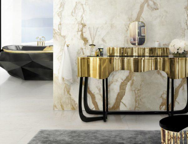 Master Bathroom Decor Introduce Glamorous Dressing Tables to Your Master Bathroom Decor featured 5 600x460