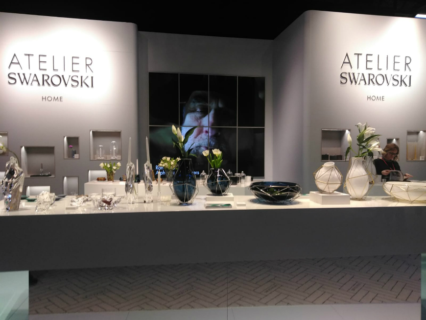 Atelier Swarovski Home Debuts Its In-House Collection at M&O Paris