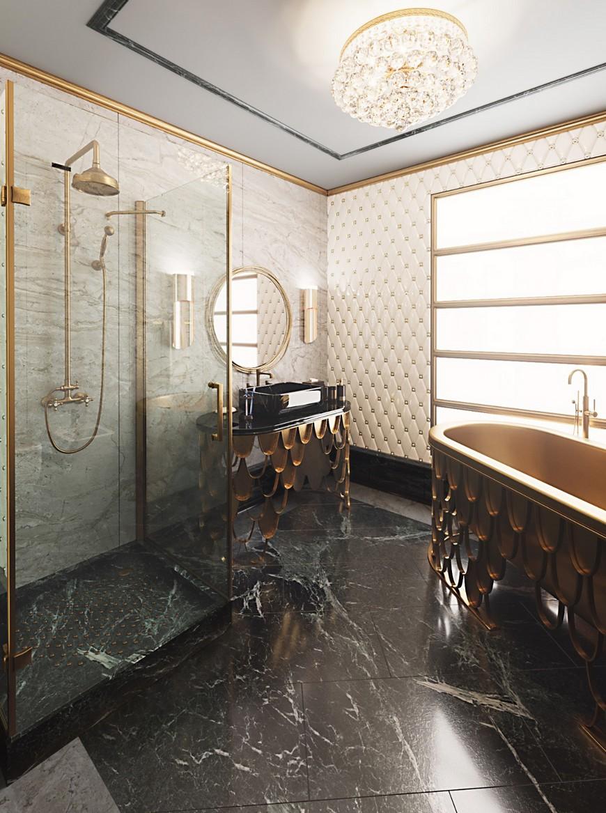Walk In Shower, bathtub, maison valentina, interior design, bathroom, bathroom design walk in shower Bathtub Or Walk In Shower? The Answer Is Right Here! Bathtub Or Walk In Shower The Answer Is Right Here