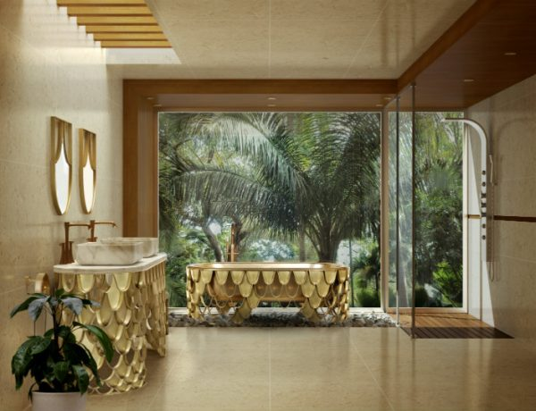 luxury bathroom Inspirational Mix-Metals Design Ideas For Your Luxury Bathroom Inspirational Mix Metals Design Ideas For Your Luxury Bathroom capa 600x460