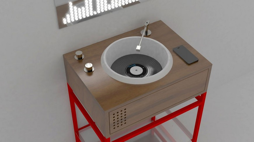 This Unique Washbasin Is Perfect For Your Mid-Century Bathroom Design mid-century bathroom design This Unique Washbasin Is Perfect For Your Mid-Century Bathroom Design This Unique Washbasin Is Perfect For Your Mid Century Bathroom Design 2