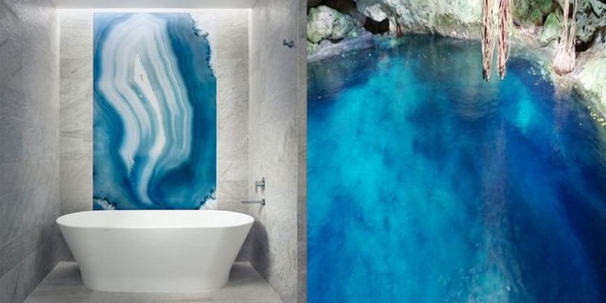 Bathroom Design Trends: Are Geode Walls The Subway Tiles? bathroom design trend Bathroom Design Trends: Are Geode Walls The Subway Tiles? Bathroom Design Trends Are Geode Walls The Subway Tiles 2