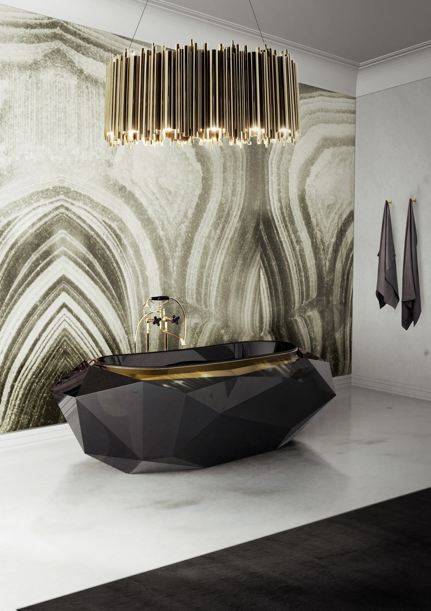 Bathroom Design Trends: Are Geode Walls The Subway Tiles? bathroom design trend Bathroom Design Trends: Are Geode Walls The Subway Tiles? Bathroom Design Trends Are Geode Walls The Subway Tiles 4