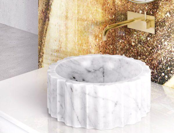 bathroom design trend Bathroom Design Trends: Are Geode Walls The Subway Tiles? Bathroom Design Trends Are Geode Walls The Subway Tiles capa 600x460