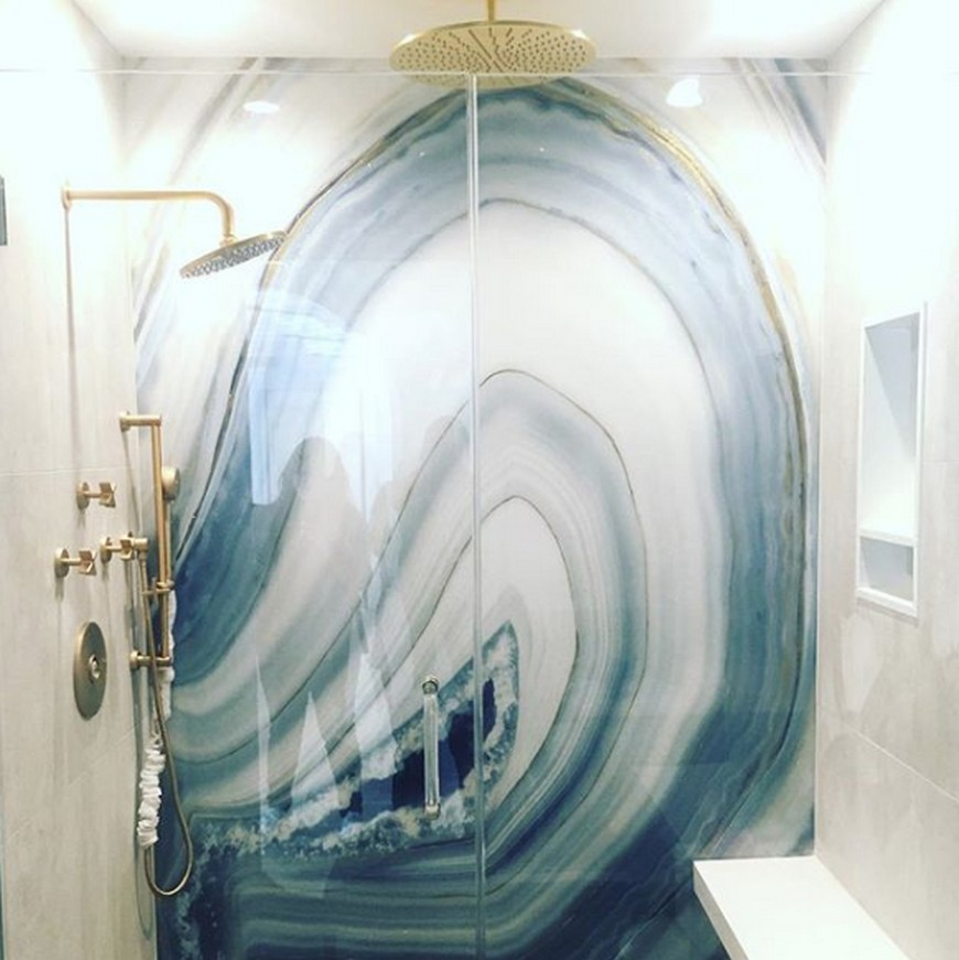 Bathroom Design Trends: Are Geode Walls The Subway Tiles? bathroom design trend Bathroom Design Trends: Are Geode Walls The Subway Tiles? Bathroom Design Trends Are Geode Walls The Subway Tiles