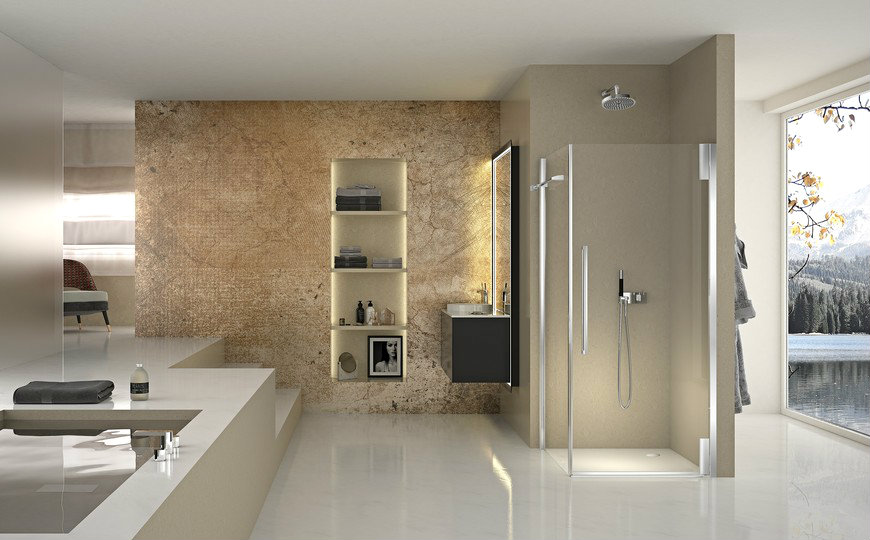 duka Duka's Newest Shower Enclosure Is Perfect For A Modern Bathroom Design Dukas Newest Shower Enclosure Is Perfect For A Modern Bathroom Design capa