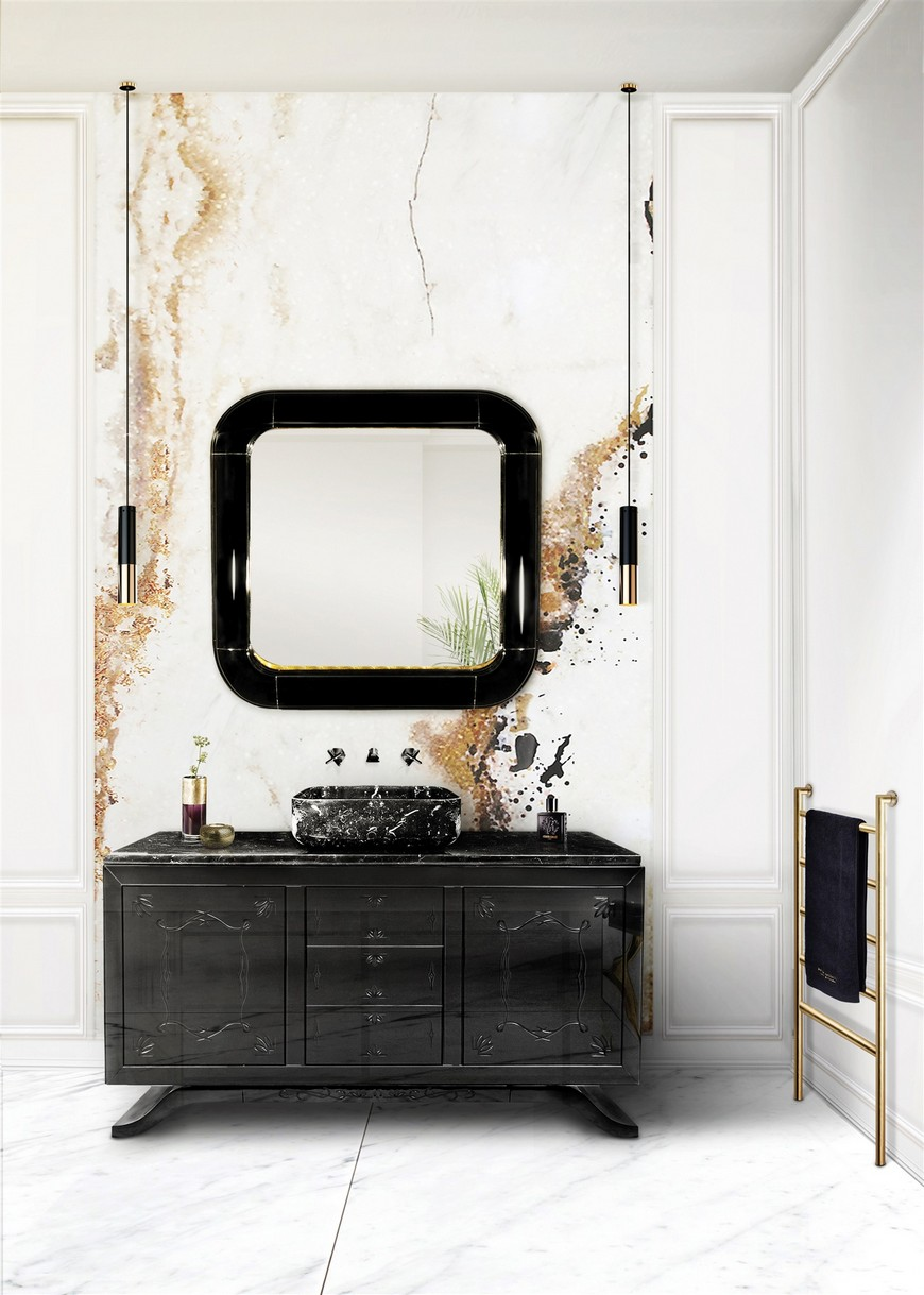 Stunning Matte Black Bathroom Vanities For Your Design Project black bathroom vanities Stunning Matte Black Bathroom Vanities For Your Design Project Stunning Matte Black Bathroom Vanities For Your Design Project 5