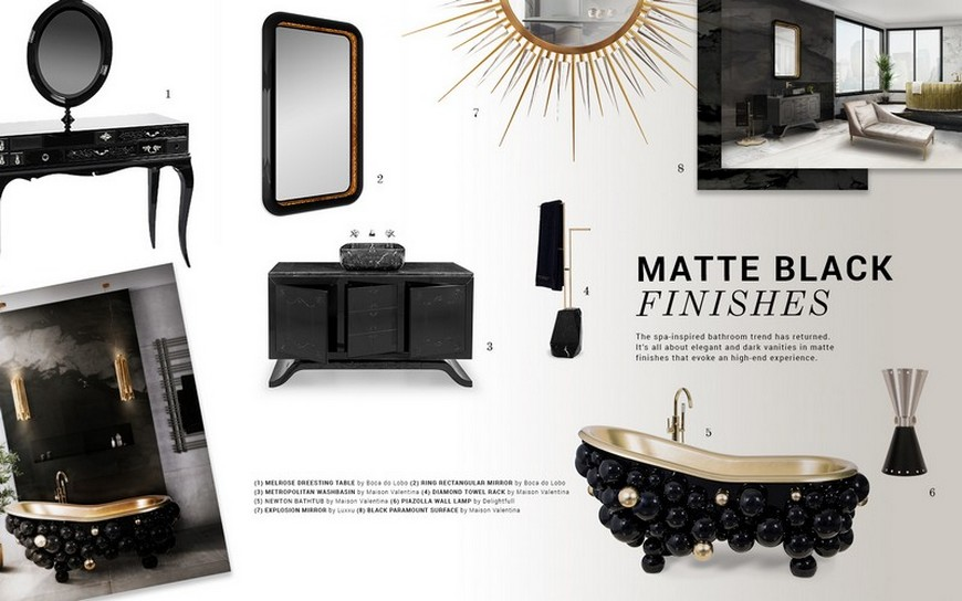 Stunning Matte Black Bathroom Vanities For Your Design Project black bathroom vanities Stunning Matte Black Bathroom Vanities For Your Design Project Stunning Matte Black Bathroom Vanities For Your Design Project