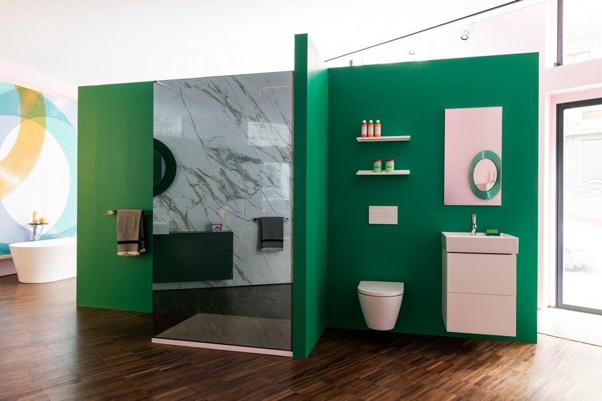 Kartell's Flagship Store In Milan Features Bathroom Vanities By Laufen kartell Kartell's Flagship Store In Milan Features Bathroom Vanities By Laufen Kartells Flagship Store In Milan Features Bathroom Vanities By Laufen 3
