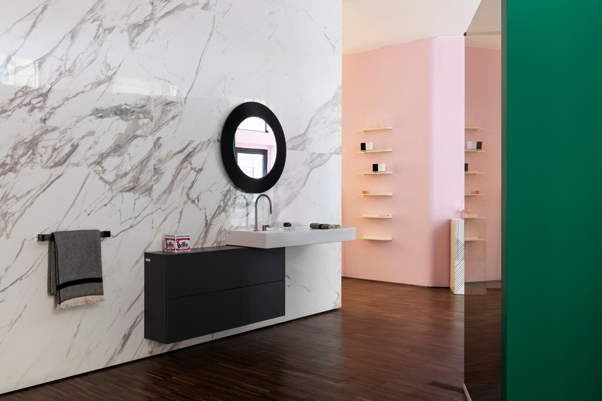 Kartell's Flagship Store In Milan Features Bathroom Vanities By Laufen kartell Kartell's Flagship Store In Milan Features Bathroom Vanities By Laufen Kartells Flagship Store In Milan Features Bathroom Vanities By Laufen 4