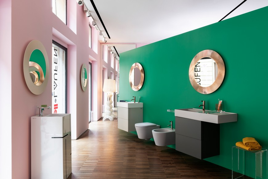 Kartell's Flagship Store In Milan Features Bathroom Vanities By Laufen kartell Kartell's Flagship Store In Milan Features Bathroom Vanities By Laufen Kartells Flagship Store In Milan Features Bathroom Vanities By Laufen 6