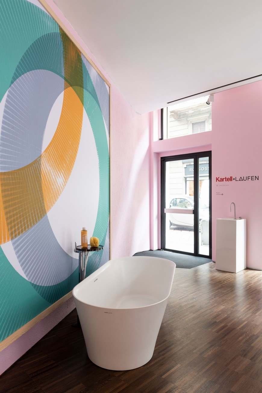 Kartell's Flagship Store In Milan Features Bathroom Vanities By Laufen kartell Kartell's Flagship Store In Milan Features Bathroom Vanities By Laufen Kartells Flagship Store In Milan Features Bathroom Vanities By Laufen 9