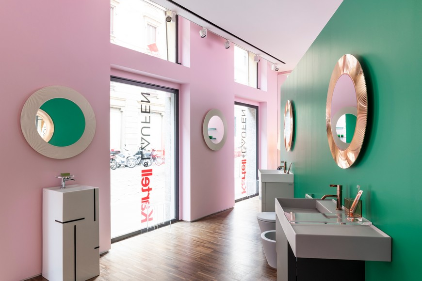 Kartell's Flagship Store In Milan Features Bathroom Vanities By Laufen kartell Kartell's Flagship Store In Milan Features Bathroom Vanities By Laufen Kartells Flagship Store In Milan Features Bathroom Vanities By Laufen