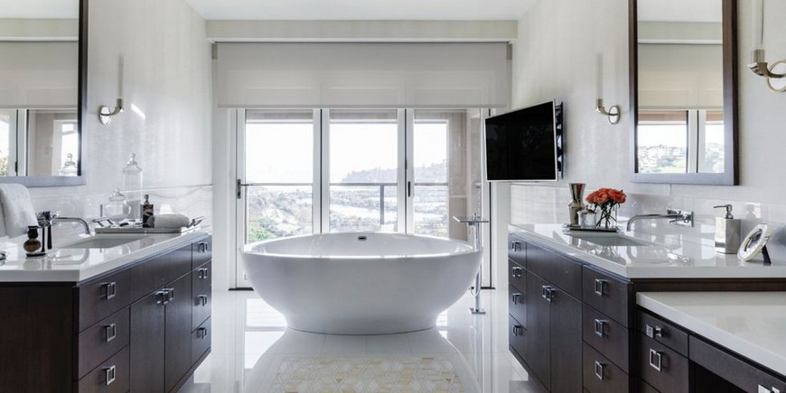 10 Inspiring Bathroom Projects With Luxurious Curved Bathtubs inspiring bathroom projects 10 Inspiring Bathroom Projects With Luxurious Curved Bathtubs 10 Inspiring Bathroom Projects Selected With Luxurious Curved Bathtubs 4