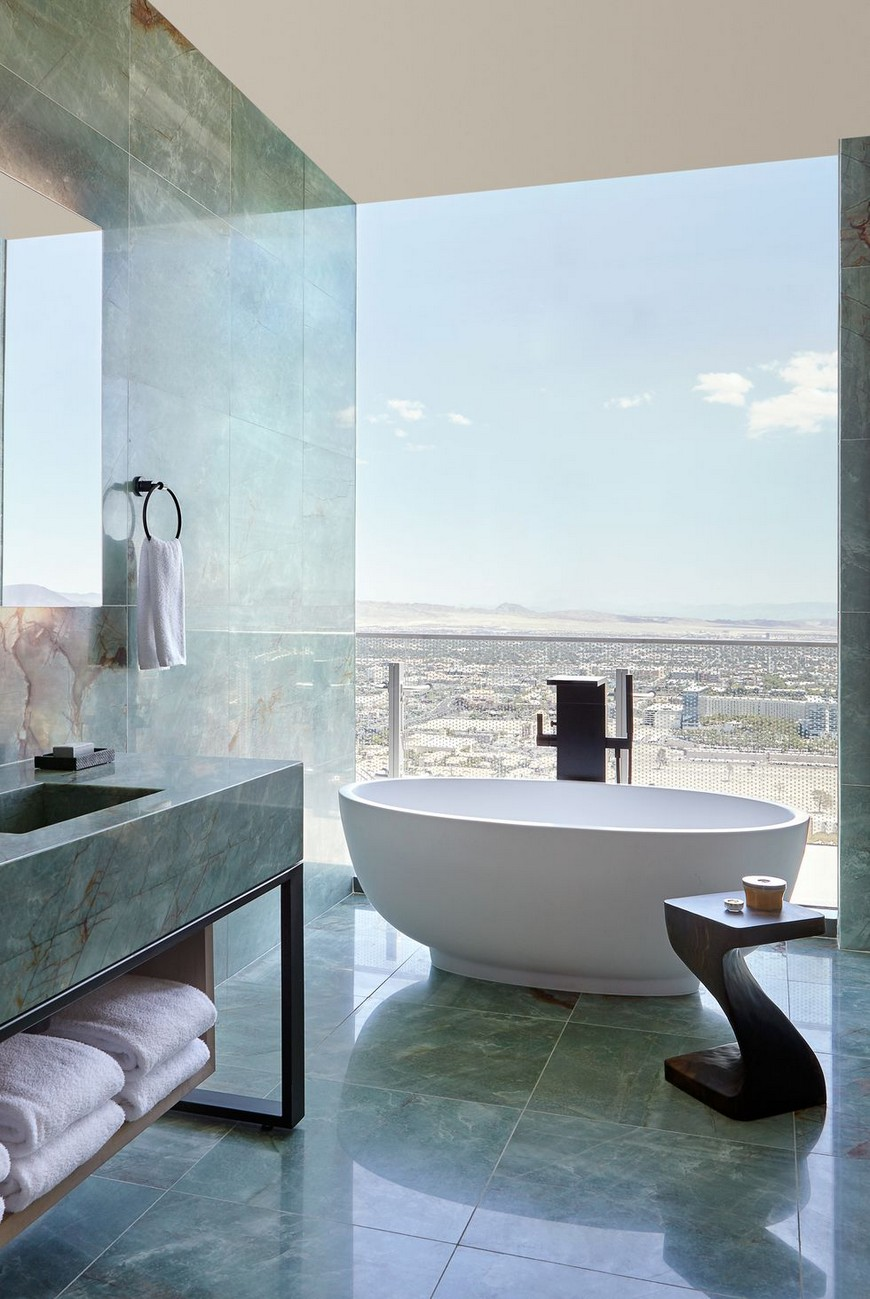 10 Inspiring Bathroom Projects With Luxurious Curved Bathtubs inspiring bathroom projects 10 Inspiring Bathroom Projects With Luxurious Curved Bathtubs 10 Inspiring Bathroom Projects Selected With Luxurious Curved Bathtubs 5