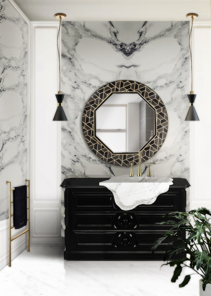 Luxury Bathroom Design Will Shine With