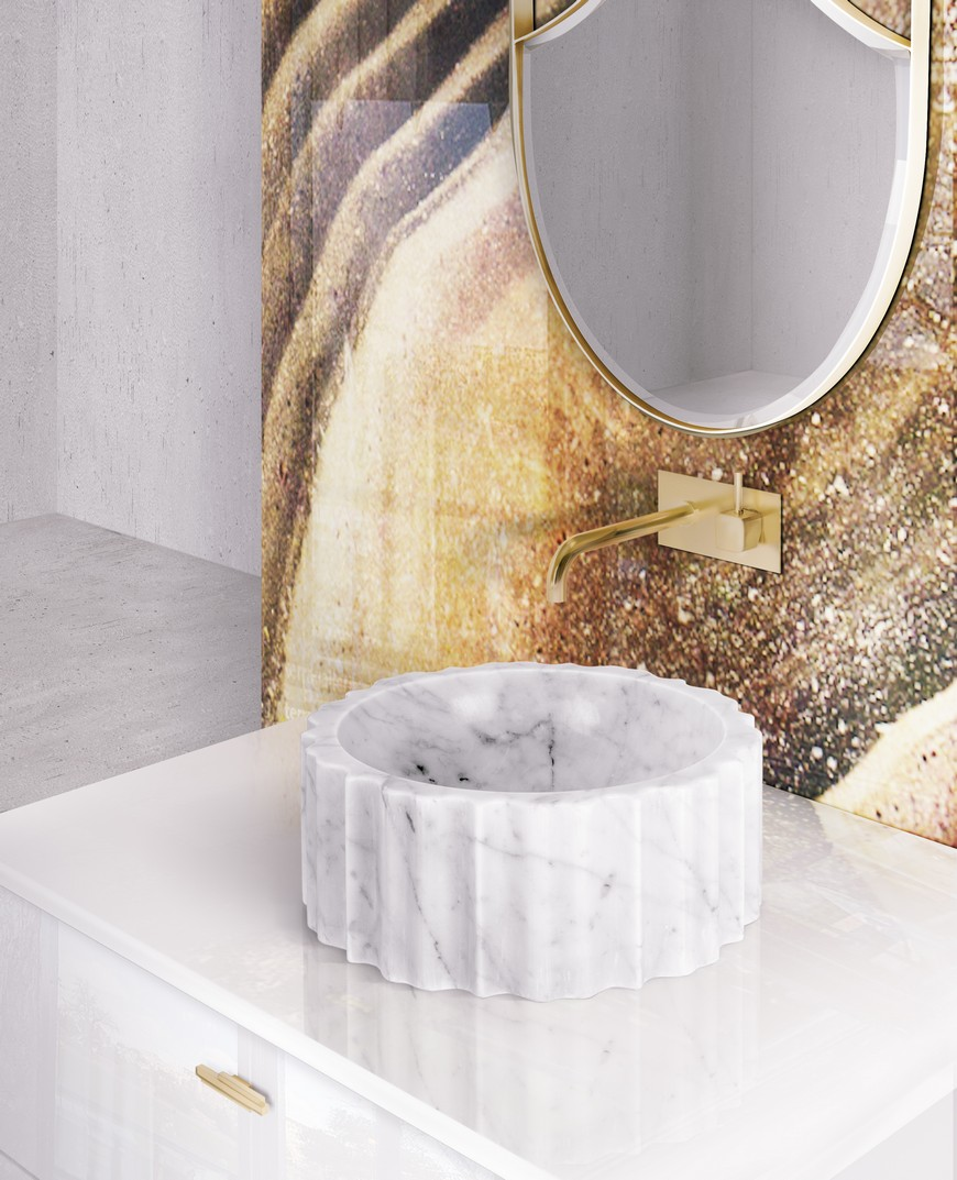 Bathroom Design Trends To Follow: Brass and Marble Combo It's A YES! bathroom design trend Bathroom Design Trends To Follow: Brass and Marble Combo It's A YES! Bathroom Design Trends To Follow Brass and Marble Combo Its A YES 4