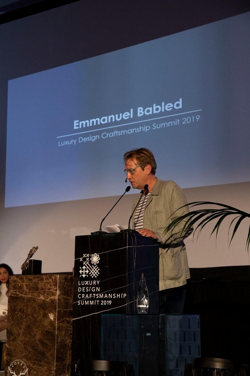 Emmanuel Babled Signature Style Is Based On High-Quality Craftsmanship