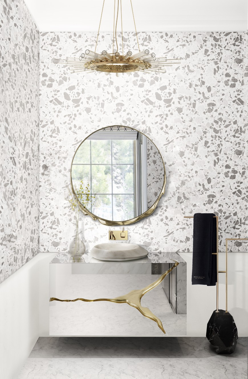 Create A Trendy Luxury Bathroom Design With These 12 Wallpaper Ideas luxury bathroom design Create A Trendy Luxury Bathroom Design With These 12 Wallpaper Ideas Create A Trendy Luxury Bathroom Design With These 12 Wallpaper Ideas 10