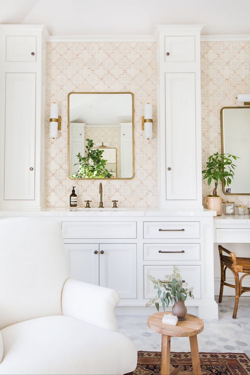 Create A Trendy Luxury Bathroom Design With These 12 Wallpaper Ideas luxury bathroom design Create A Trendy Luxury Bathroom Design With These 12 Wallpaper Ideas Create A Trendy Luxury Bathroom Design With These 12 Wallpaper Ideas 3