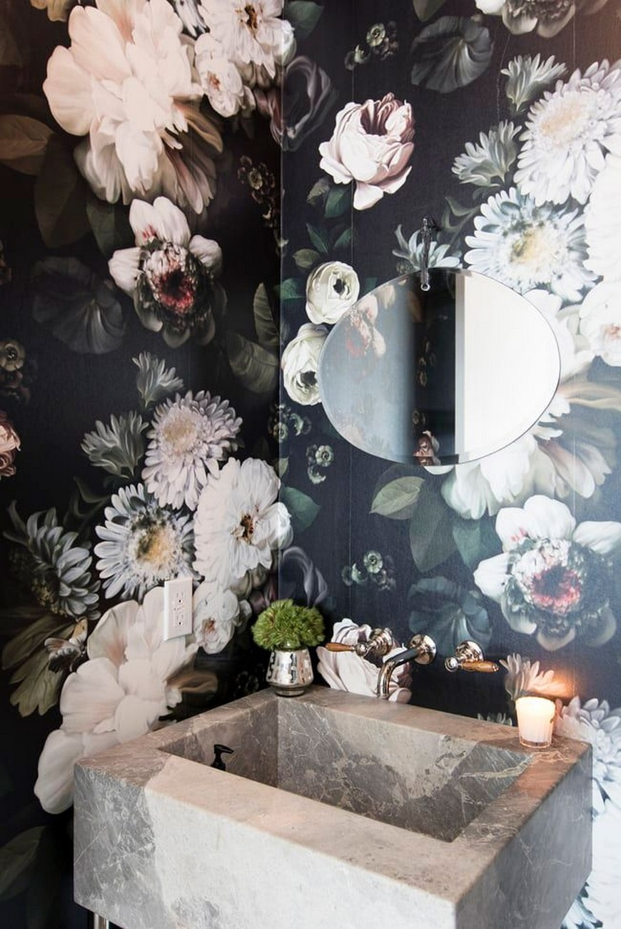 Create A Trendy Luxury Bathroom Design With These 12 Wallpaper Ideas luxury bathroom design Create A Trendy Luxury Bathroom Design With These 12 Wallpaper Ideas Create A Trendy Luxury Bathroom Design With These 12 Wallpaper Ideas 4