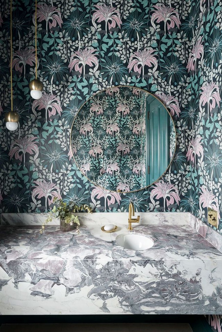 Create A Trendy Luxury Bathroom Design With These 12 Wallpaper Ideas luxury bathroom design Create A Trendy Luxury Bathroom Design With These 12 Wallpaper Ideas Create A Trendy Luxury Bathroom Design With These 12 Wallpaper Ideas 7
