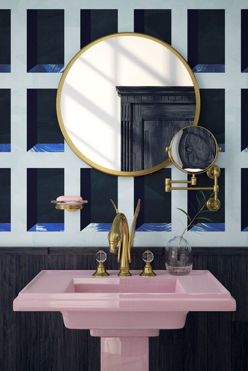 Create A Trendy Luxury Bathroom Design With These 12 Wallpaper Ideas luxury bathroom design Create A Trendy Luxury Bathroom Design With These 12 Wallpaper Ideas Create A Trendy Luxury Bathroom Design With These 12 Wallpaper Ideas