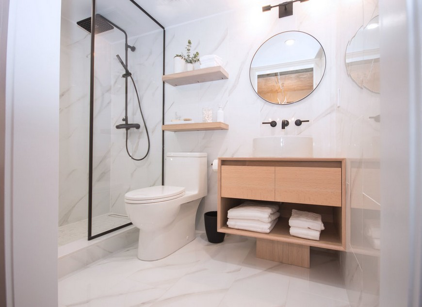 Jaclyn Genovese's Features The Best Contemporary Bathroom Design Ideas