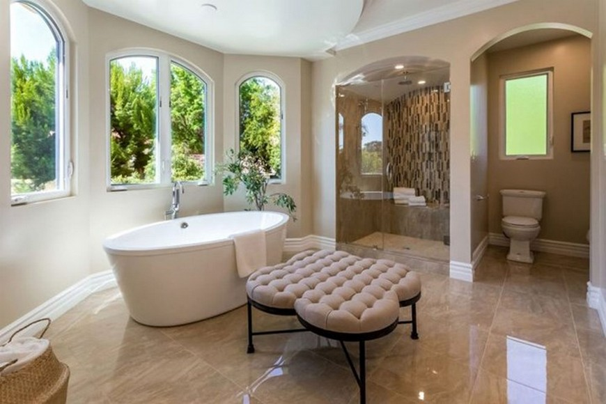 5 Luxury Bathroom Design Projects Own By Famous Celebrities To Inspire luxury bathroom design Celebrities Open Their Homes to You: 5 Luxury Bathroom Design Projects 5 Luxury Bathroom Design Projects Own By Famous Celebrities To Inspire 9